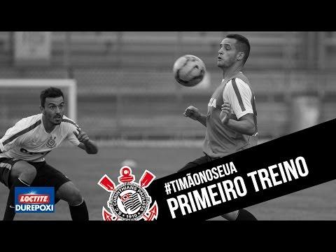 #TimãonosEUA | Primeiro treino