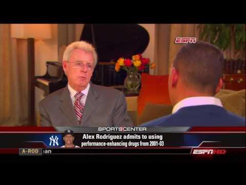 ESPN Sportscenter: Alex Rodriguez Interviewed by Peter Gammons Part 3/4