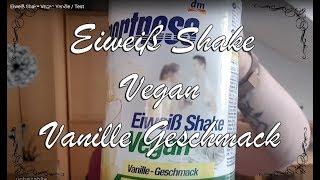 Eiweiß Shake Vegan Vanille   / Test