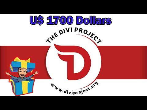 """🔴JÁ LISTADO EM EXCHANGE🔴Ganhe dinheiro """"GRÁTIS"""" com Bounty Divi Project (U$1700). PAGA EM 30 DIAS!"""