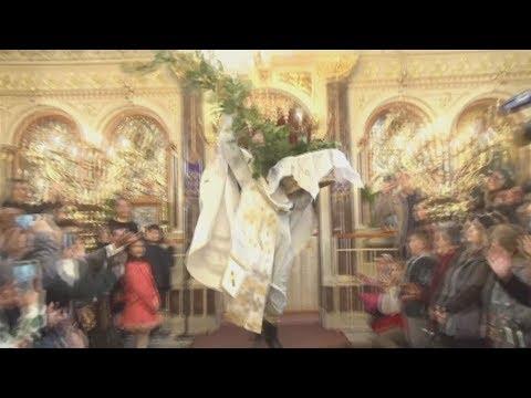 Πρώτη Ανάσταση στο Ναό Παναγίας Ευαγγελιστρίας Χίου