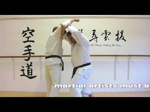 Hangetsu Bunkai Strategies 2019 week 14 koryu karate oyo jutsu