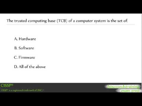 CISSP - practice exam - YouTube