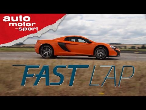 McLaren 650S: Schnellste Orange der Welt - Fast Lap | auto motor und sport