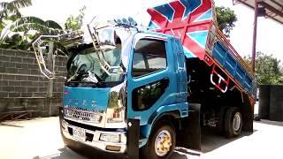 ซื้อเรียบร้อยFUSO 240แรงม้า dump truck 7 สิงหาคม ค.ศ. 2018