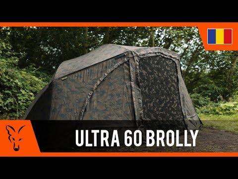 Cort Fox Ultra 60 Brolley Ventec Ripstop System Khaki