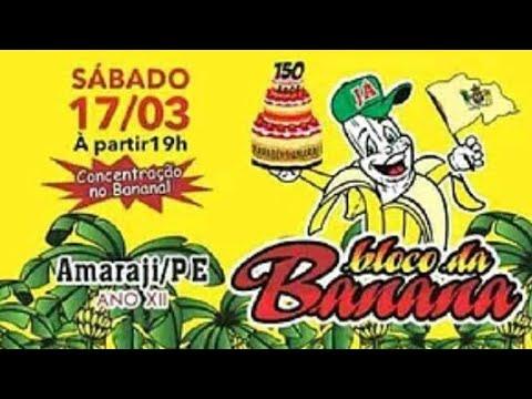 Bloco da banana em Amaraji Pernambuco