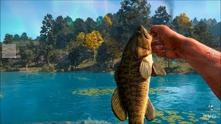 Far Cry New Dawn - Fishing Smallmouth Bass - Open World Free Roam Gameplay (PC HD) [1080p60FPS]