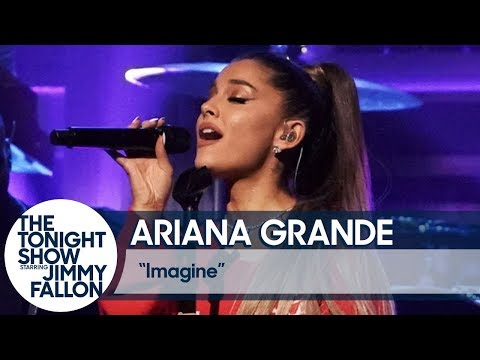 5387ce0cc Google News - Watch Ariana Grande perform ``Imagine   on Fallon ...