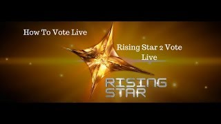 Rising Star Live Voting - How to Vote Live on Voot App