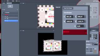 ArKaos Grand VJXT Video Tutorial - 3. GrandVJ XT Cropping with the video mapper