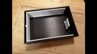 DIY daylight stand /inversion developing tank 5x7 inch sheet film