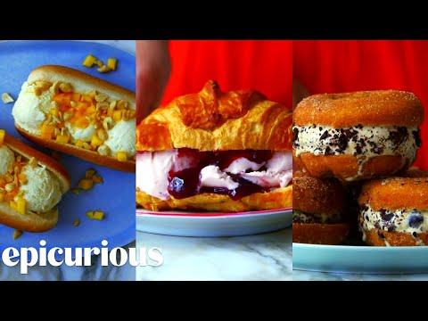Video 3 New Ways to Ice Cream Sandwich