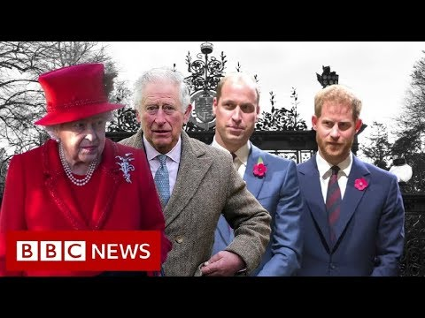 Royal talks on Harry and Meghan's future – BBC News