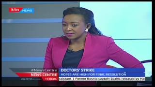 The state of doctors' negotiations with Bernard Adika and Betty Kyalo 4/1/2017