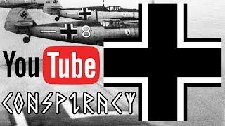 Youtube Exit Full Screen Button Looks Like NAZI German Emblem Symbol