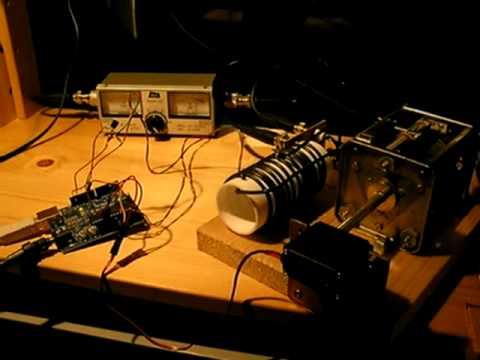 Automatic antenna tuner using an Arduino - смотреть онлайн