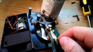 ESP8266 Web Enabled Morse Code Transceiver