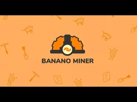Banano miner новый способ добывать много banano . Бесплатная криптовалюта