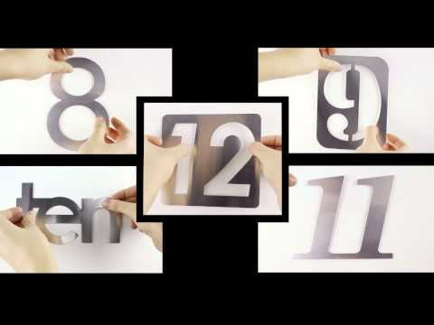 Video for Numbra Wall Clock