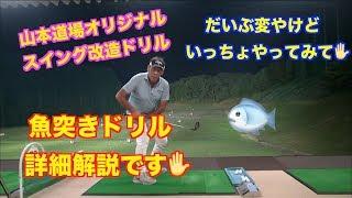 ゴルフスイングの基本!!スイングも👍飛距離アップも👍切り返しのタメも👍これで自然とできてしまう✋今回はコーチ編やで✋