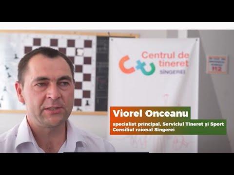 """Viorel Onceanu, specialist de tineret, Sîngerei: """"Tinerii trebuie cointeresați să participe la activitățile ce îi vizează, ulterior, experiența o să-i ajute în viața de zi cu zi"""""""