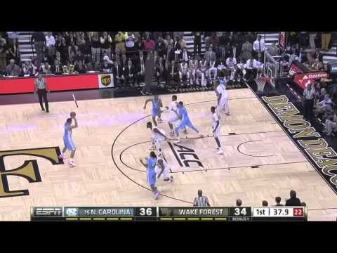 Video: UNC-Wake Forest Game Highlights