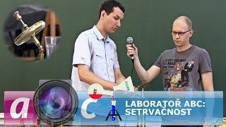 Laboratoř ABC: Gyroskop a setrvačníky