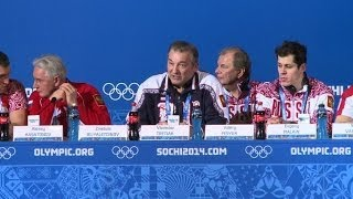 Russia's Ice Hockey Team Feels Games Pressure