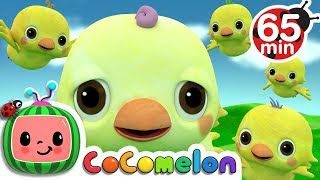 Five Little Birds 2 | +More Nursery Rhymes & Kids Songs - Cocomelon (ABCkidTV)