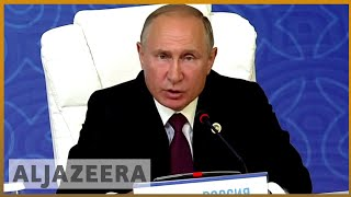 Is it a lake or sea? Five nations sign landmark Caspian agreement   Al Jazeera English