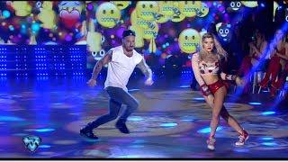 Fede Baul y Laurita Fernández bailaron Cumbia Pop pero no brillaron como siempre