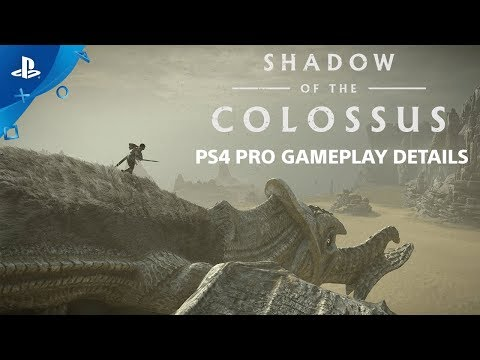 Ajouts PS4 Pro de Shadow of the Colossus