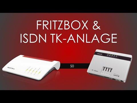 Fritzbox Tutorial - ISDN Telefonanlage anbinden