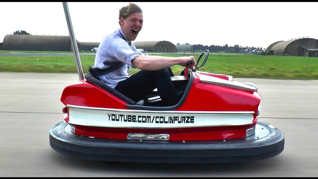 The World's Fastest Dodgem Car Is Your Childhood Dreams Come True
