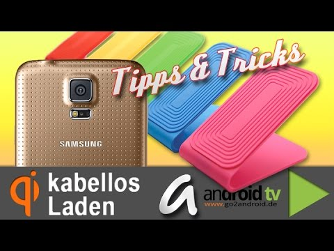 Samsung Galaxy S5 kabellos Laden mit Qi-Technologie - Tipps & Tricks 95