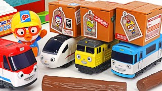 Help! Titipo Friends 2 Pullback~ Let's deliver the package with Genie! | PinkyPopTOY
