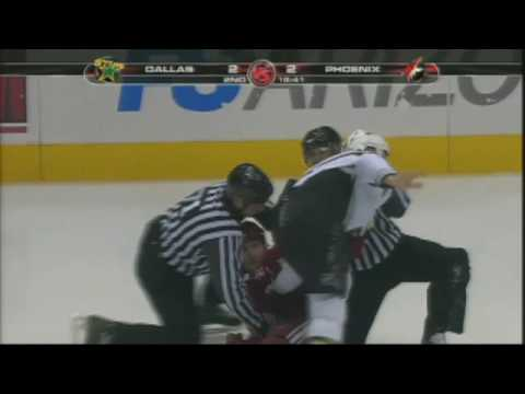 Brandon Prust vs. Steve Begin