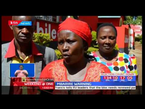 Cecily  Mbarire:Those uttering rigging claims should give evidence or be charged