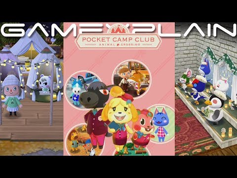 Animal Crossing: Pocket Camp - Pocket Camp Club Paid Subscription Service Trailer