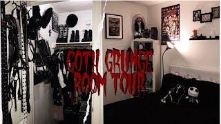 🕷 Goth Grunge Room/Closet Tour 🕷