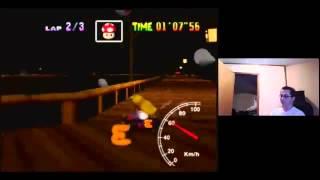 "SgtRaven - Mario Kart 64 Banshee Boardwalk 3Lap NTSC 1'47""17 Personal Record"