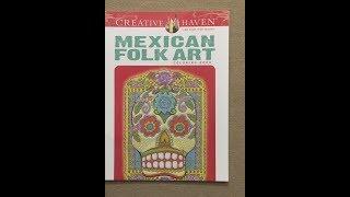 Mexican Folk Art - Creative Haven Flip Through