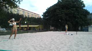 preview picture of video 'Girls on the Beach Inter City Tournament in Prague vol. 1'