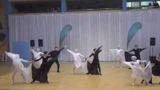 Танец Противостояние: черное и белое