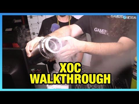 XOC Voltages Explained ft. Der8auer (7GHz LN2 Overclock)