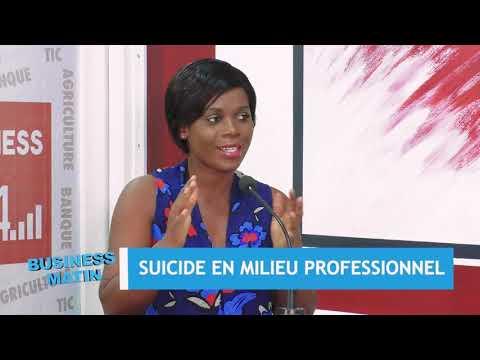 BUSINESS SANTÉ: SUICIDE EN MILIEU PROFESSIONNEL BUSINESS SANTÉ: SUICIDE EN MILIEU PROFESSIONNEL