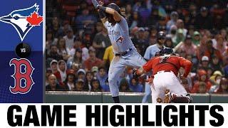 Spielhighlights Blue Jays vs. Red Sox (29.07.21) | MLB-Highlights