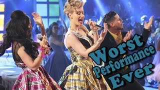 Iggy Azalea   Fancy Ft. Charli XCX (Worst Live Performance Ever) (Shreds)