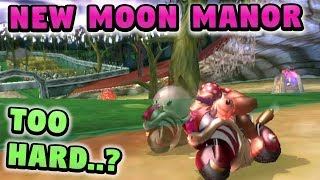 Mario Kart Wii Custom Track: Troy vs New Moon Manor